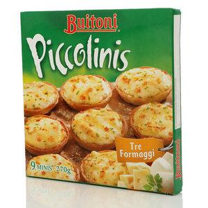 Buitoni Piccolinis три сыра (Буитони Пикколини) ТМ Nestle (Нестле)