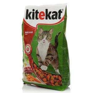 Корм для кошек Мясной пир ТМ Kitekat (Китекат)