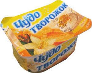 Творожок десерт творожный ванильно-абрикосовый 4,2% ТМ Чудо