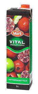 Напиток со вкусом граната и яблока ТМ Marli Vital (Марли Виталь)