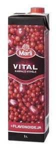 Напиток со вкусом клюквы и винограда Vital ТМ Marli (Марли)