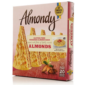 Миндальный торт без глютена ТМ Almondy Shwedish Bakery (Алмонди Шведиш Бейкери)