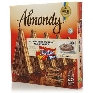 Миндальный торт без глютена с молочным шоколадом замороженный ТМ Almondy Shwedish Bakery (Алмонди Шведиш Бейкери)