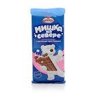 Шоколад Мишка на Севере молочный с воздушным рисом ТМ Фабрика им. Крупской