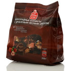 Шоколадные конфета из темного шоколада с дробленным лесным орехом ТМ Fine Life (Файн Лайф)