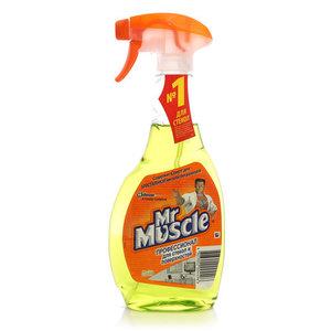 Средство для мытья стекол и поверхностей лайм ТМ Mr.Muscle (Мистер Мускул)
