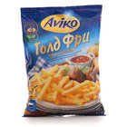 Картофель фри соломка Голд Фри классический для приготовления во фритюре или на сковороде ТМ Aviko (Авико)