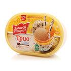 """Мороженое пломбир """"Трио"""" ТМ Золотой стандарт"""
