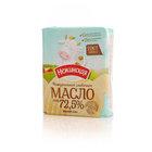 Масло сладко-сливочное несоленое Крестьянское 72,5% ТМ Нежинская