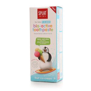 Зубная паста биоактивная Фруктовое мороженое для детей 2-6 лет ТМ Splat Kids(Сплат кидс)