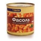 Фасоль белая в томатном соусе ТМ Лента