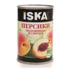 Персики половинки в сиропе ТМ Iska (Иска)