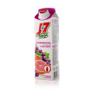 Нектар J7 Тонус Суперфрукты с экстрактом ягод годжи ТМ J7 (Джей севен)
