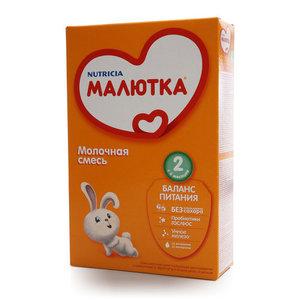 Молочная смесь 2 Малютка ТМ Nutricia (Нутриция)