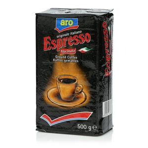 Кофе молотый жареный Espresso (Эспрессо) ТМ Aro (Аро)