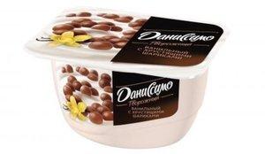 Творожок ванильный с хрустящими шариками 7,2% ТМ Даниссимо