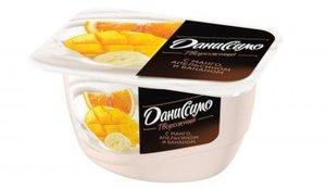 Творожок с манго, апельсином и бананом 5,4% ТМ Даниссимо