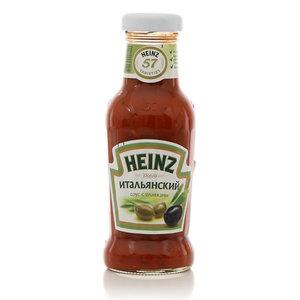 Соус итальянский с оливками ТМ Heinz (Хайнц)