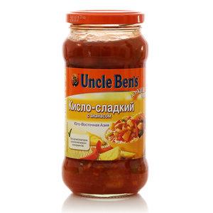 Соус овощной кисло-сладкий с ананасом  ТМ Uncle Ben's (Анкл Бен'с)