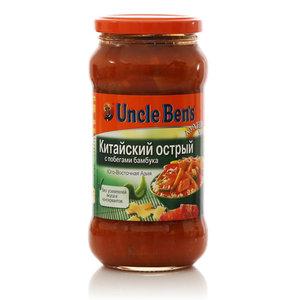 Соус овощной Китайский острый с побегами бамбука Кухни мира Юго-Восточная Азия ТМ Uncle Ben's (Анкл Бен'с)