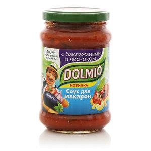 Соус томатный для макарон с баклажанами и чесноком ТМ Dolmio (Долмио)
