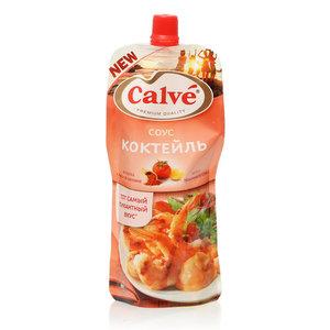 Соус Коктейль на основе растительных масел ТМ Calve (Кальве)