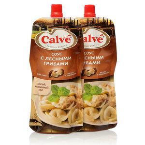 Соус с лесными грибами ТМ Calve (Кальве), 2*230г, на основе растительных масел