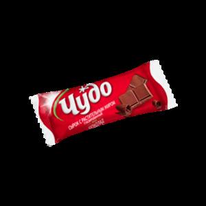 Сырок глазированный шоколадный ТМ Чудо