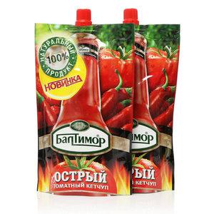 Кетчуп острый томатный ТМ Балтимор, 2*330г