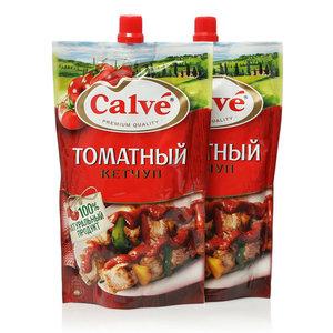 Кетчуп томатный ТМ Calve (Кальве), 2*350г
