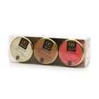 Мед-суфле 3-х вкусов 3*30 г ТМ Peroni Honey (Перони Хони), 3
