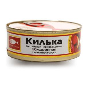Килька балтийская неразделенная обжаренная в томатном соусе ТМ Stella Maris (Стелла Марис)
