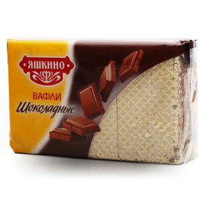 Вафли шоколадные ТМ Яшкино