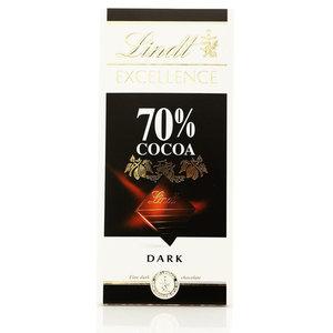 Шоколад горький 70% какао ТМ Lindt (Линдт)