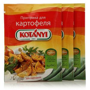 Приправа для картофеля ТМ Kotanyi (Котани), 3*30г