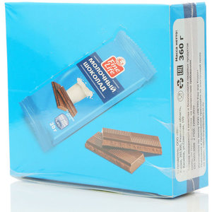 Шоколад молочный TM FineLife (Файн лайф) 18*20г