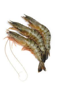 Креветки в панцире с головой (15/кг) охлаждённые