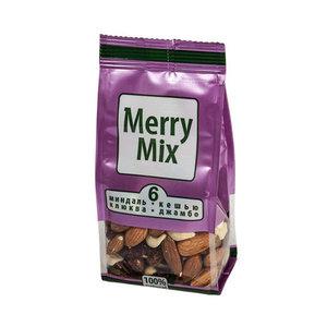 """Орехово-ягодная смесь №6 """"миндаль, кешью, клюква, изюм""""  ТМ Merry mix (Мерри микс)"""