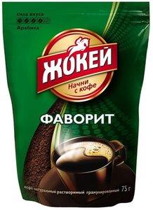 Кофе растворимый гранулированный Фаворит ТМ Жокей