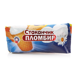 Стаканчик пломбир ТМ Качество Кубань