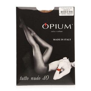 Колготки женские tutto nudo (тутто нудо) visone (вьюжн) 40 ден размер 3 ТМ Opium (Опиум)
