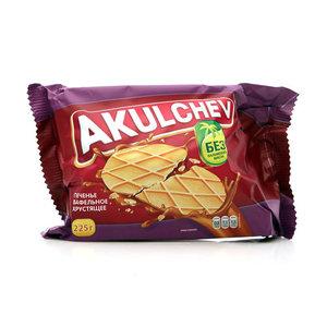 Печенье сахарное Вафельное хрустящее ТМ Akulchev (Акульчев)