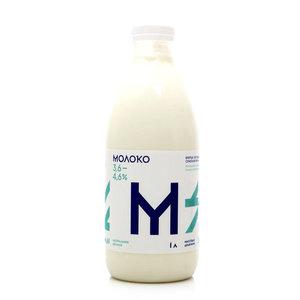 Молоко 3,6-4,6% ТМ Братья Чебурашкины