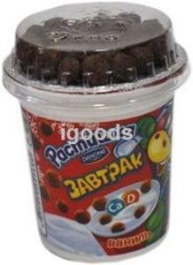 Йогурт ванильный с шоколадными шариками ТМ Растишка