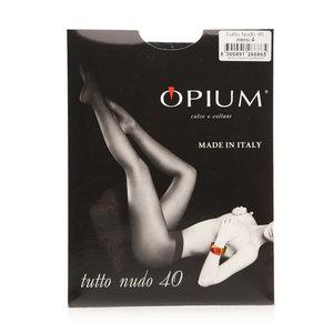 Колготки женские tutto nudo (тутто нудо) nero (нэро) 40 ден размер 4 ТМ Opium (Опиум)