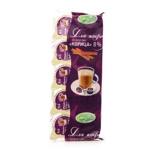 Сливки порционные 8% Для кофе с корицей ТМ Campina (Кампина), 10*10г