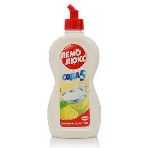 Средство для мытья посуды Лимон ТМ Пемо Люкс Сода 5