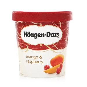 Мороженое пломбир манго и малина ТМ Haagen-Dazs (Хааген-Данцс)