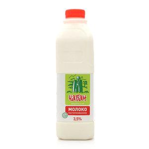 Молоко пастеризованное 3,5% ТМ Чабан