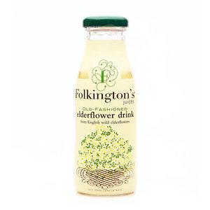Напиток сокосодержащий с соком бузины и ревня ТМ Folkington's (Фолкингтонс)